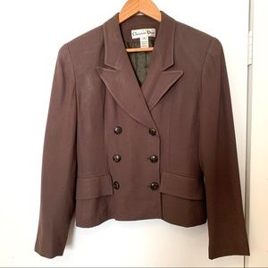 Christian Dior Vintage Double Breasted Blazer - 4